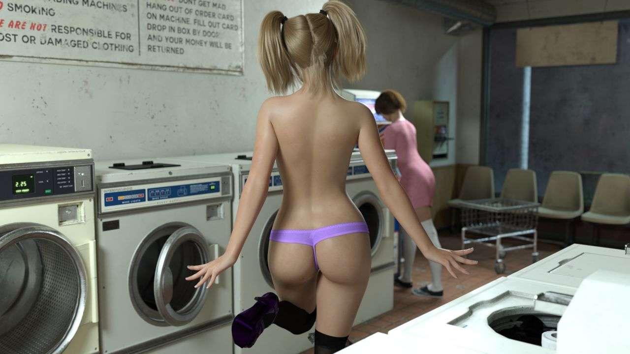Xayla's laundry day (22 of 139)